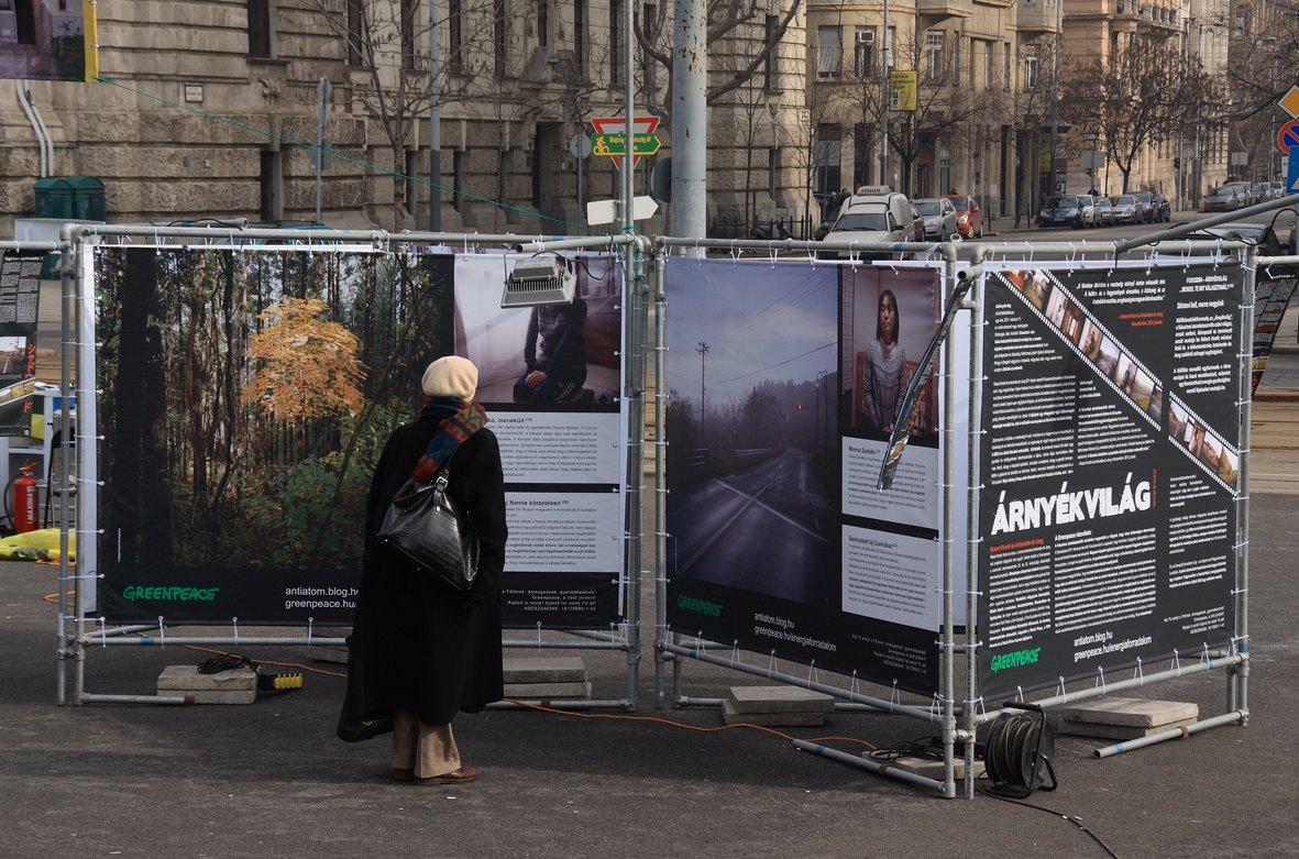 Fényzáró molinó - Greenpeace