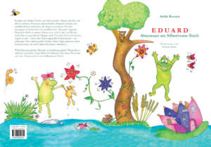 Könyv tördelés cím és hátoldal - Eduard