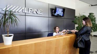 ALPINE – céges portfólió fotózás