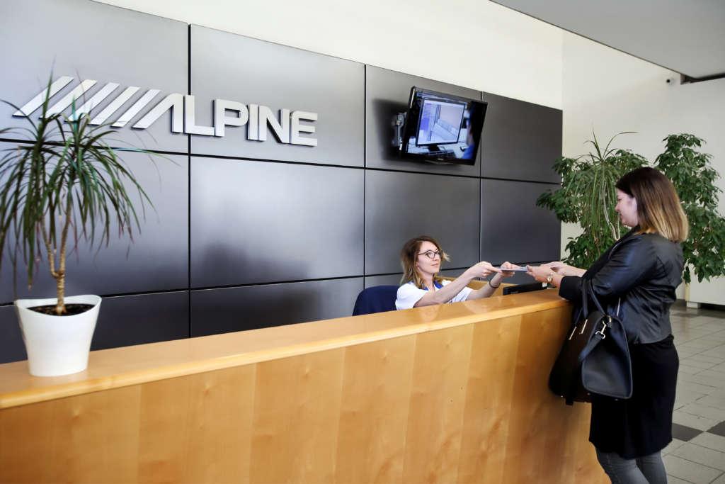 Alpine céges portfólió fotózás
